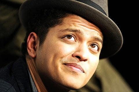 Bruno Mars Amsterdam concert 2013