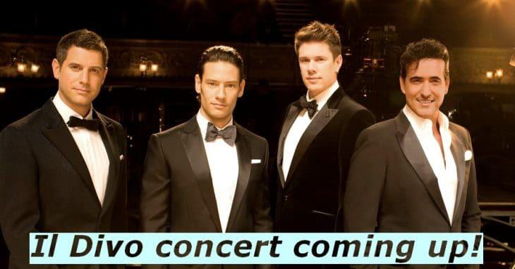 Il Divo concert in Amsterdam